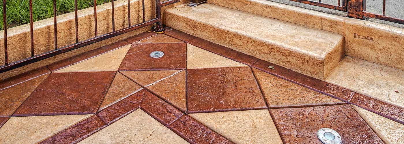 cincinnati patterned concrete